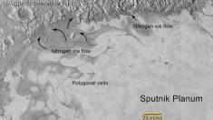 Descubren neblina y hielo que se desliza en Plutón