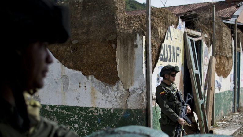 (Photo credit should read LUIS ROBAYO/AFP/Getty Images)