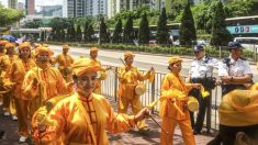 Practicantes de Falun Dafa de Hong Kong conmemoran 16 años de persecución