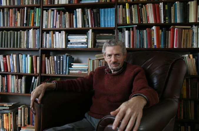Michael Grosso, en su casa de Charlottesville, Va., el 4 de febrero de 2015. (Tara MacIsaac/La Gran Época).