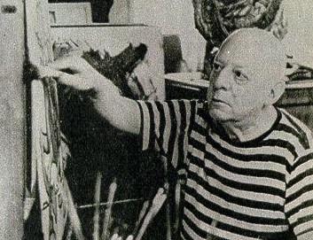 El visionario Benjamin Solari Parravicini -nacido en Buenos Aires en 1898- asombra hoy a todo el mundo no solo por su arte sino por el legado de los dibujos proféticos que llamó psicografías premonitorias. (Wikimedia Commons)