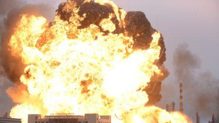 Impactante vídeo: así fue la explosión en una planta petroquímica en China