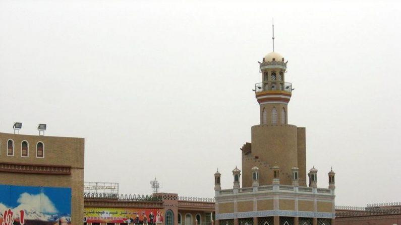 Ciudad de Kashgar (Kashi)  en Xinjiang, China (Wikimedia Commons)