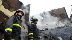 EE.UU: Explosiones y fuego en un parque industrial de Maywood, Los Ángeles
