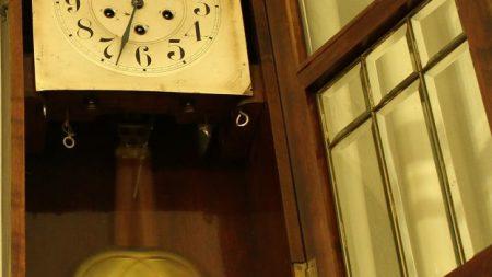¿Por qué se sincronizan dos relojes de péndulo en una pared?