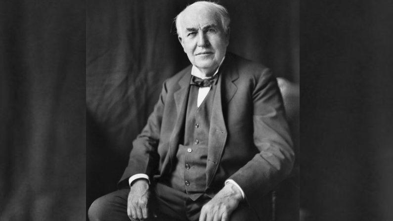 Thomas Alva Edison. (Wikimedia Commons/Dominio Público)