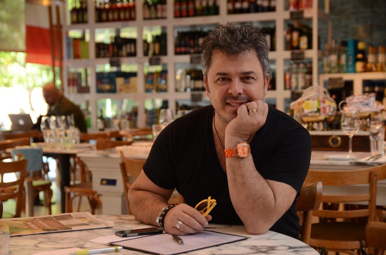 """""""La gastronomía es una actuación entre lo real y la sensibilidad"""", afirma Donato de Santis"""