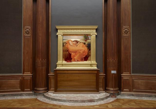"""La provocativa pintura de Leighton """"Sol ardiente de junio"""" irrita y fascina al mundo del arte"""