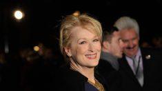 Meryl Streep financia los guiones de 12 mujeres mayores de 40 años