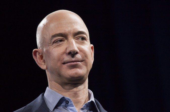 Fundador de Amazon.com y Jeff Bezos CEO en Seattle, el 18 de junio de 2014. (David Ryder/Imágenes Getty)