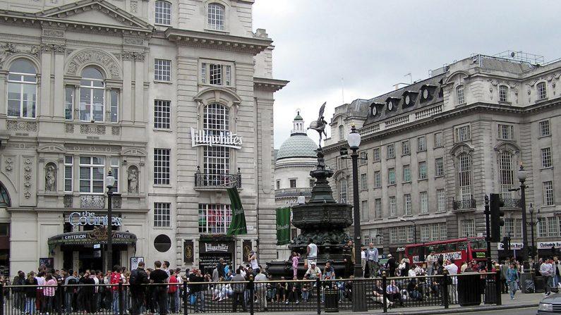 Imagen de Picadilly Circus, Londres. (ca.wikipedia.org)