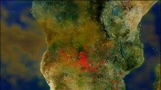 Quemas e incendios agrícolas en África crean menos lluvia, sostiene la NASA