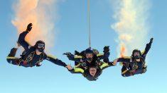 Espectacular récord mundial con más de 160 paracaidistas