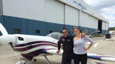 Un vuelo con Andrew Wright un día antes de su muerte