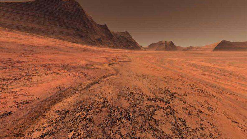 ¿Marte? (La NASA vía diarioHoy)