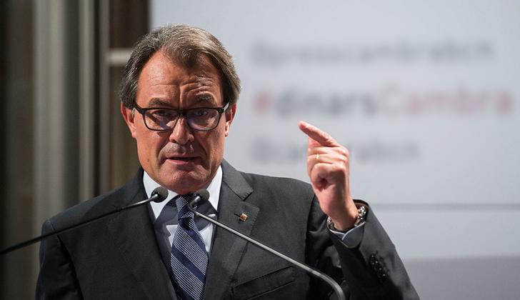 Artur Mas, presidente del Gobierno catalán.  (Wikimedia Commons)