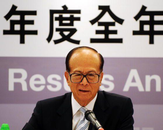 Li Ka-shing, el hombre más rico de Asia. (LAURENT FIEVET/AFP/Getty Images)