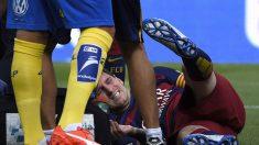 Messi queda lesionado tras el juego ante Las Palmas