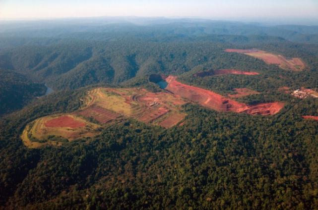 Deforestación Amazónica. (La Información)
