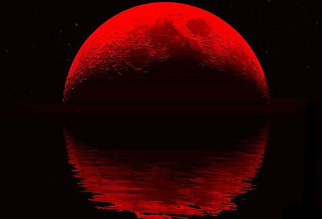 Una Luna roja. (Diario Ecología)