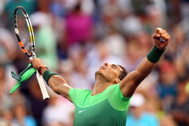 NEW YORK, NY - SEPTEMBER 02: Rafael Nadal of Spain (La Información)
