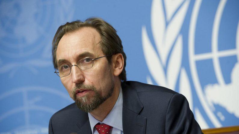 Zeid Ra´ad Al Hussein, Alto Comisionado de la Organización de las Naciones Unidas para los Derechos Humanos.  (Flickr)