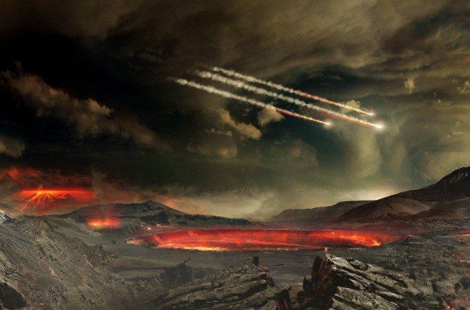 El TB145 fallará. Pero en el pasado, la Tierra ha sido golpeada por incontables asteroides. (Goddard Space Flight Center Conceptual imagen de NASA Lab/flickr, CC por 2.0)
