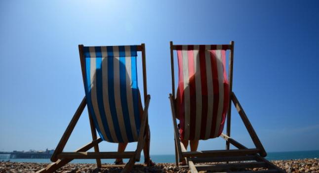 Cáncer de piel: Advierten sobre el mal uso del protector solar. (Photo credit should read CARL COURT/AFP/Getty Images)