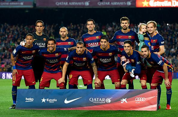 El Barcelona triunfa en el Camp Nou sobre el SD Eibar, 25 de octubre de 2015. (Manuel Queimadelos Alonso/Getty Images)