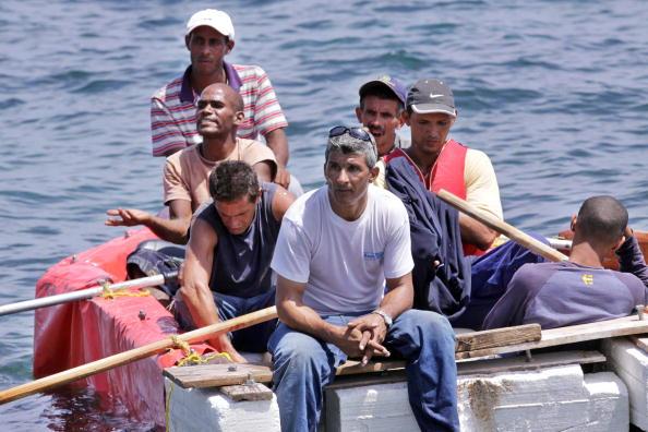 Balseros Cubanos (Photo by Sven Creutzmann/Mambo Photo/Getty Images)