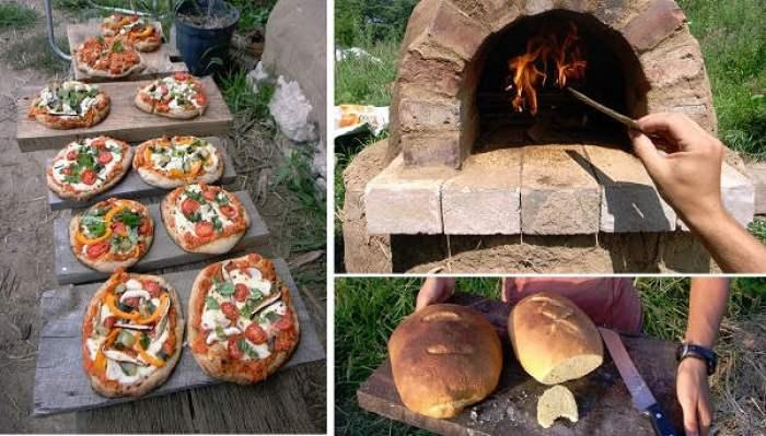 Cómo hacer un horno de cob casero