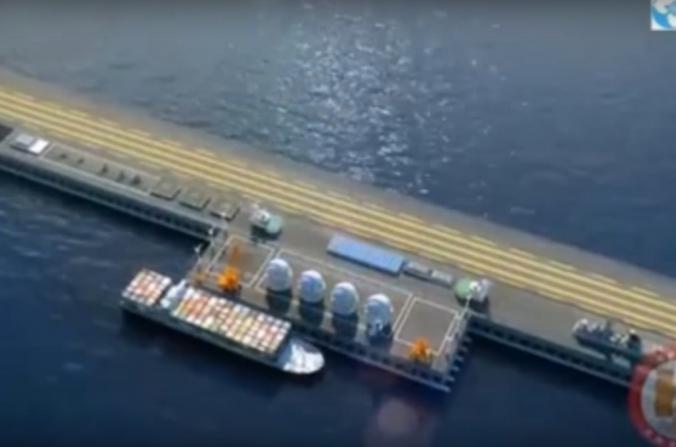 Base marítima. Imagen solo a modo ilustrativo (Captura de pantalla de Youtube)