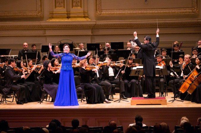Concierto de la Orquesta Sinfónica de Shen Yun en el Flynn Center para las Artes Ascénicas en Burlington, VT. el 04 de octubre de 2015. (Evan Ning/ La Gran Época)