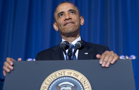 Barack Obama. (SAUL LOEB/AFP/Getty Images)