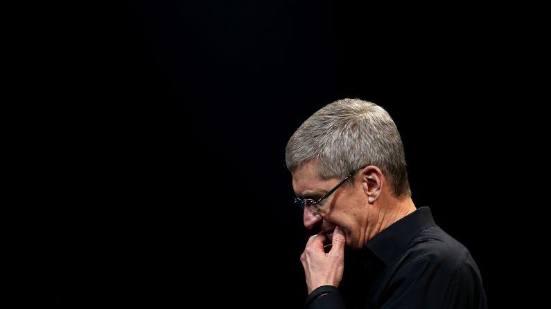 El CEO de Apple Inc, Tim Cook. (Photo by Justin Sullivan/Getty Images)