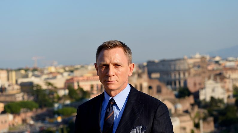 Daniel Craig no descarta volver a ser James Bond (foto TIZIANA FABI/AFP/Getty Images)