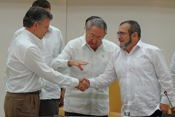 Gobierno de Colombia y las FARC toman acuerdo sobre búsqueda de desaparecidos. (YAMIL LAGE/AFP/Getty Images)