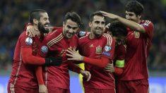 España vence a Ucrania en la clasificación para la Eurocopa 2016