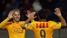 Victoria para el Barcelona y el Valencia en la Liga de Campeones