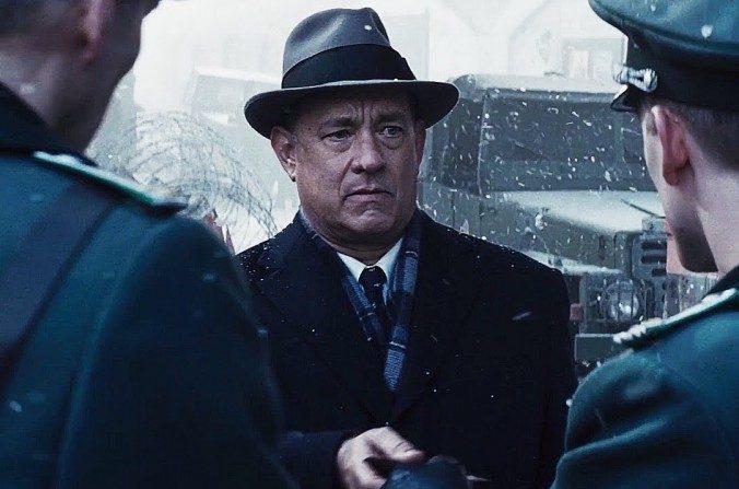 """Tom Hanks como James B. Donovan en """"El puente de los espías"""" de Steven Spielberg (DreamWorks Studios)"""