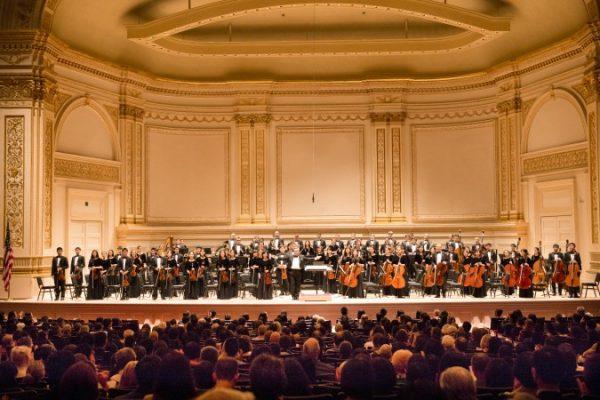 La Orquesta Sinfónica de Shen Yun comenzó su gira y visita Nueva Inglaterra