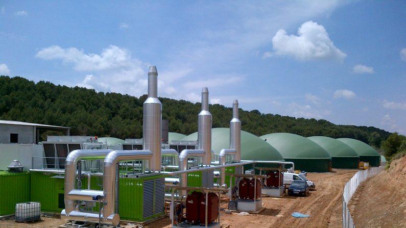 Planta de Biogas. (wikipedia-org)