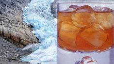 """Noruega: Producirán cubitos de hielo con agua """"100% pura"""" de glaciar formado antes de existir la contaminación"""