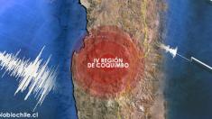 Sismo de magnitud 5.7 sacudió Chile