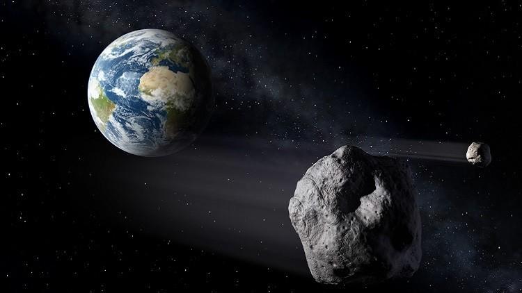 El 7 de noviembre de 2016 un pequeño asteroide de alrededor de 10 metros de diámetro se acercó a sólo 255.000 kilómetros de la Tierra. (NASA)