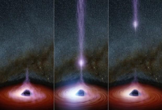 La energía que salió del agujero negro tiene en jaque a los científicos de la NASA