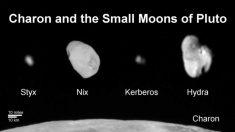 Plutón: su satélite Cerbero, más pequeño de lo calculado, parece estar cubierto de hielo