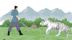 La historia de Sun Simiao (Parte 3): curando a un dragón y a un tigre con sus habilidades y compasión