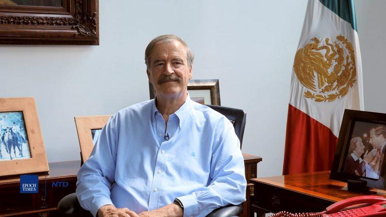 El ex presidente mexicano Vicente Fox, en el Centro Fox, cerca de León, México. (Seth Hirsch/La Gran Época)