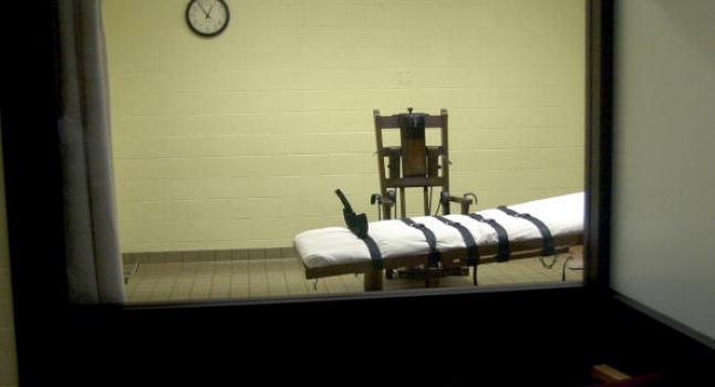 Imagen de la silla eléctrica donde se aplica la pena capital en Ohio. (Foto de archivo/Mike Simons/Getty Images)